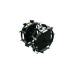Колеса-грунтозацепы Салют Дн=460х160 мм. в Гомеле