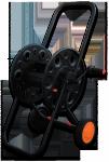 """Тележка для шланга металлическая Bradas AG222 на 100м шланга 1/2"""" в Гомеле"""