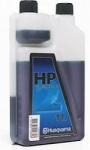 Масло Husqvarna HP для 2-х тактных двигателей, 1л (с дозатором) в Витебске