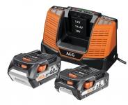 Аккумулятор AEG SET LL18X02BL2 (2) с зарядным устройством (в сумке) в Гомеле