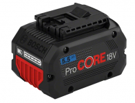 Аккумулятор BOSCH ProCORE 18 V 5,5 Ah (-1-) Professional в Гомеле