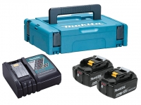 Аккумуляторы MAKITA 2 шт. BL1860B 6.0 Ah + зарядное DC18RC в Гродно