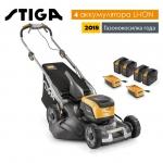 Аккумуляторная газонокосилка Stiga TWINCLIP 50 SQ DAE в Гродно