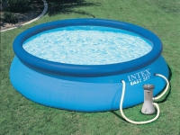 Надувной бассейн INTEX Easy Set + фильтр-насос 28122NP в Гродно
