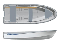 Лодка пластиковая Terhi 400 в Гродно