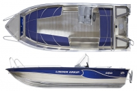 Моторная лодка Linder Arkip 460  в Гомеле