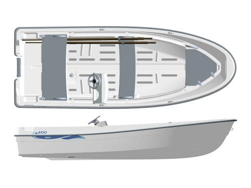 Лодка пластиковая Terhi 400С в Гомеле