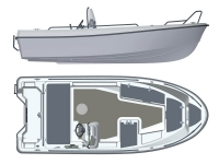 Лодка пластиковая Terhi 445С в Могилеве