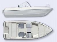 Лодка пластиковая Terhi 475 BR в Гродно