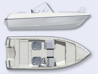 Лодка пластиковая Terhi 475 BR в Могилеве