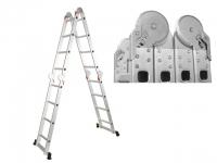 Лестница алюминевая (228-460 см) STARTUL (ST9732-04) в Гродно