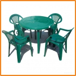 Набор мебели пластиковой Луч (стол круглый) в Гомеле