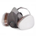 Комплект для защиты дыхания с полумаской J-SET 5500P с фильтрами 5510 А1, с предфильтрами и с держателями Jeta Safety в Гродно