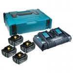 Аккумулятор MAKITA BL1860B 6.0 Ah (-4-) + зарядное DC18RD  в Могилеве