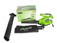 Воздуходувка-пылесос GreenWorks GBV2800 в Гомеле