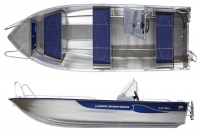 Моторная лодка Linder SPORTSMAN 445 MAX в Витебске