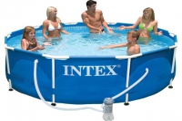 Каркасный бассейн INTEX Metal Frame 28202NP + фильтр-насос  в Гомеле