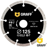 Алмазный диск GRAFF по бетону и камню 125x7x2,2x22,23 мм в Витебске