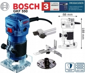 Фрезер кромочный BOSCH GKF 550 Professional в Гомеле