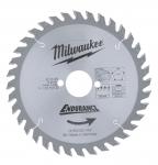 Диск пильный по дереву MILWAUKEE D 165х30х2,6 мм 36Z для циркулярной пилы в Гродно