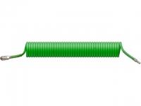 Шланг полиурет. спиральный ф 8/12 мм c быстросъемн. соед. ECO (длина 10 м) в Гомеле
