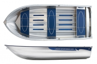 Моторная лодка Linder SPORTSMAN 400 в Гомеле
