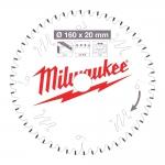 Диск пильный по дереву D 160x20x2,2 мм 42Z MILWAUKEE в Гомеле