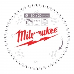 Диск пильный по дереву D 160x20x2,2 мм 42Z MILWAUKEE в Витебске