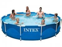 Каркасный бассейн INTEX Metal Frame 28210NP в Витебске