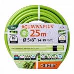 Поливочный шланг Claber Aquaviva Plus 5/8'' (14-19MM) 25 м 9006 в Гродно