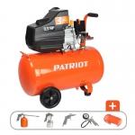 Компрессор PATRIOT EURO 50-260K + набор пневмоинструмента KIT 5В в Гродно