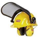 Шлем с сетчатой маской и наушниками RYOBI ACC008  в Гомеле