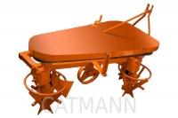 Плуг-картофелекопатель роторный навесной в Могилеве