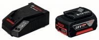 Аккумулятор Bosch GBA 18 V 4.0 Ah (-1-) Professional + зарядное AL 1860 CV в Могилеве