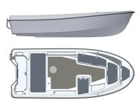 Лодка пластиковая Terhi 445 в Гродно