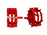 Грунтозацепы ф 350/270 мм, шир. 160 мм, 6-гр. втулка 26 мм в Гомеле