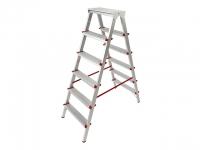 Лестница-стремянка алюм. 132 см 6 ступ. 5 кг PRO STARTUL (ST9941-06) в Гродно