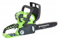 Цепная пила аккумуляторная GREENWORKS G-MAX 40V G40CS30K4  в Гомеле