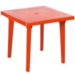 Стол квадратный, красный в Гомеле