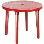 Стол круглый, бордовый в Гомеле