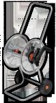 Тележка для шланга металлическая Bradas Zincato AG210 в Гомеле