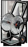 Тележка для шланга металлическая Bradas Zincato AG210