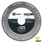 Алмазный диск GRAFF Black по металлу 125хх22,23 мм в Гомеле