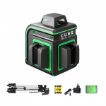 Лазерный нивелир ADA Cube 360-2V Green Professional Edition в Гродно
