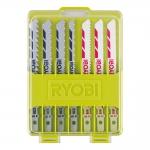 Набор пилок для лобзика RYOBI RAK10JSB (10 шт.) в Гомеле