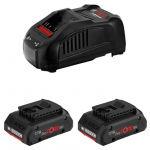 Набор 2 аккумулятора и зарядное BOSCH ProCORE 18V 4.0 Ah Professional в Витебске