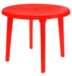 Стол круглый, красный в Гродно