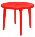 Стол круглый, красный в Гомеле