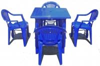 Набор мебели пластиковой Луч (стол квадратный) в Витебске