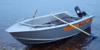 Лодка Вельбот алюминивая (моторно-гребная) Wellboat 42 в Могилеве